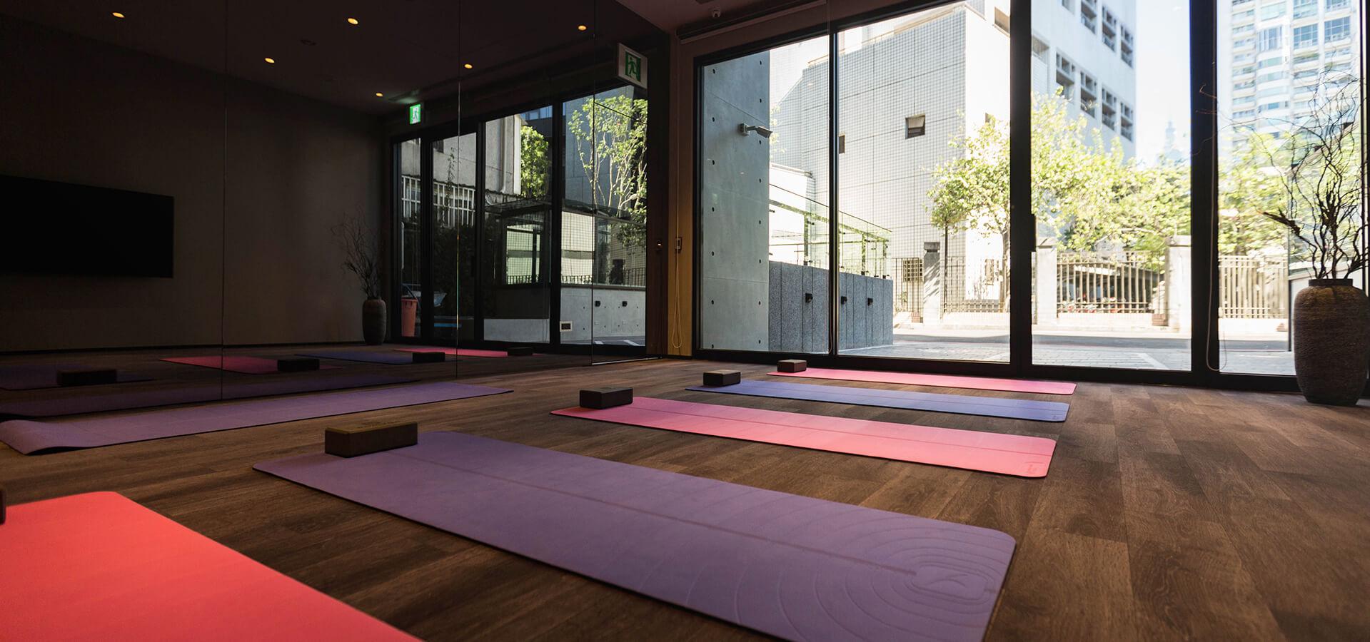 插圖 - 瑜伽課程室